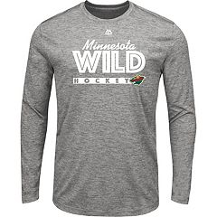 Men's Majestic Minnesota Wild Crash Tee