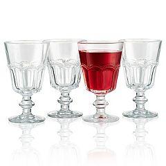 Artland 4-piece Pearl Ridge Wine Glass Set