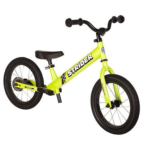 Strider 14x Sport 14-Inch Balance Bike & Easy-Ride Pedal Kit