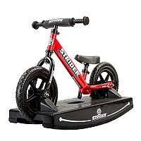Youth Strider 12-Inch Balance Bike & Rocking Base Set