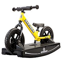Youth Strider 12-Inch Balance Bike & Rocking Base Set