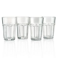 Artland 4-piece Pearl Ridge Highball Glass Set
