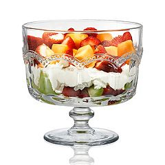 Artland Pearl Ridge Trifle Bowl