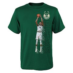 752a159ca Boys 8-20 Milwaukee Bucks Giannis Antetokounmpo Pixel Player Tee