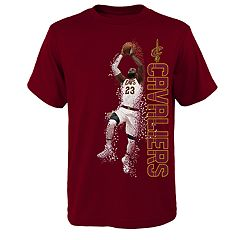 Boys 8-20 Cleveland Cavaliers LeBron James Pixel Player Tee