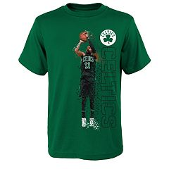 Boys 8-20 Boston Celtics Kyrie Irving Pixel Player Tee
