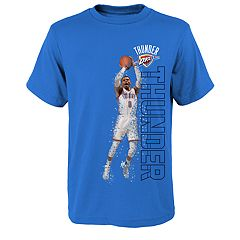 Boys 8-20 Oklahoma City Thunder Russell Westbrook Pixel Player Tee