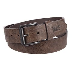 Men's Levi's® Embossed-Logo Leather Belt