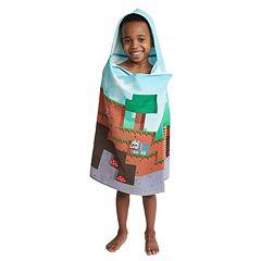 Minecraft Hooded Towel