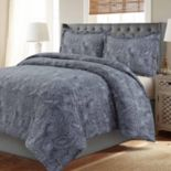 Madrid Paisley Printed Oversized Duvet Cover Set