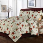 Madrid Printed Floral Oversized Duvet Cover Set