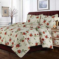 Madrid Printed Floral Oversized Duvet Cover Set