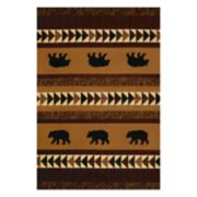 United Weavers Designer Contours Donna Sharp Woodcut Geometric Rug
