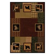 United Weavers Designer Contours Donna Sharp Corbin Square Patchwork Rug