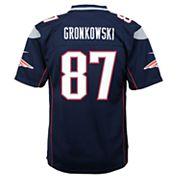Boys 8-20 New EnglandPatriots Rob Gronkowski Super Bowl LII Jersey