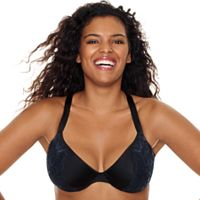 Just My Size Modern Curvy Embellished Plunge Underwire MJ1204