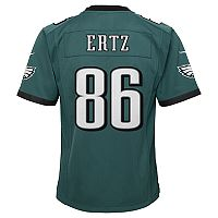 Boys 8-20 Philadelphia Eagles Zach Ertz Super Bowl LII Jersey