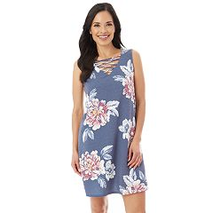 Women's Apt. 9® Strappy Floral Shift Dress