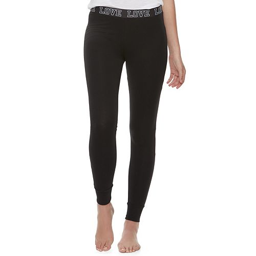 "Juniors' SO® ""Love"" Leggings"