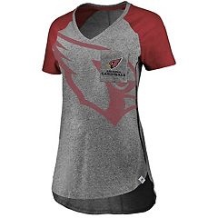 Women's Majestic Arizona Cardinals Static Tee
