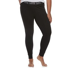 Plus Size SO® 'Love' Leggings