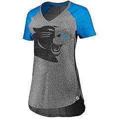 Women's Majestic Carolina Panthers Static Tee