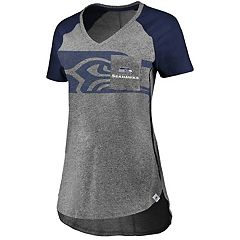 Women's Majestic Seattle Seahawks Static Tee