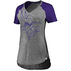 Women's Majestic Minnesota Vikings Static Tee