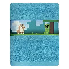 Minecraft Bath Towel