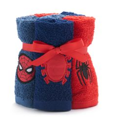 Spiderman 6-pack Washcloth Set