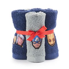 Marvel Team Up 6-pack Washcloth Set