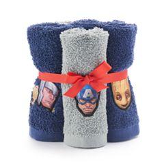 Marvel Team Up 6-pack Washcloth Set
