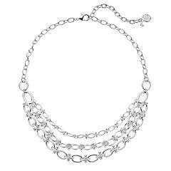 Dana Buchman Chain Link Swag Necklace