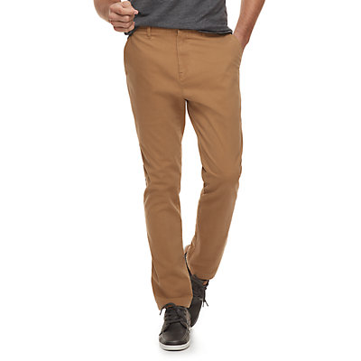 Men's SONOMA Goods for Life? Modern-Fit Athletic Stretch Twill Chino Pants
