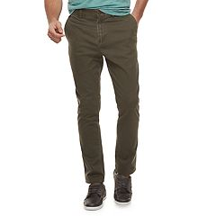 Men's SONOMA Goods for Life™ Modern-Fit Athletic Stretch Twill Chino Pants