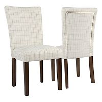 HomePop Classic Parsons Dining Chair 2 pc Set