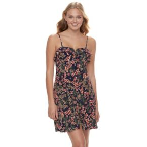 Juniors' Candie's® Ruffled Dress