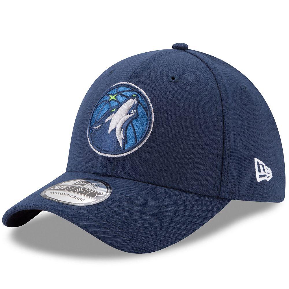 Adult New Era Minnesota Timberwolves 39THIRTY Flex-Fit Cap