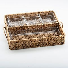 Artland Garden Terrace Double Tray Server