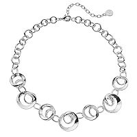 Dana Buchman Swirl Link Collar Necklace