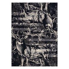 United Weavers Designer Contours Buck Wear American Buck Rug