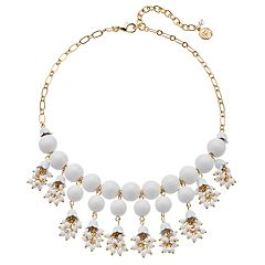 Dana Buchman Bead Bib Necklace