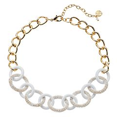 Dana Buchman Chain Link Collar Necklace