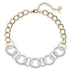 Dana Buchman Chain Link Collar Necklace