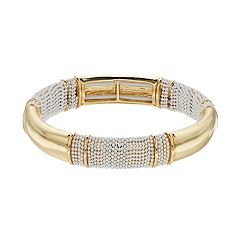 Dana Buchman Textured Stretch Bangle Bracelet