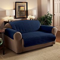 Innovative Textile Solutions Microfiber Furniture Loveseat Slipcover