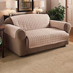 Innovative Textile Solutions Microfiber Furniture Sofa Protector Slipcover