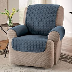 Innovative Textile Solutions Microfiber Furniture Recliner/Wing Chair Slipcover
