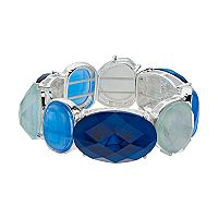 Dana Buchman Inlay & Cabochon Stretch Bracelet