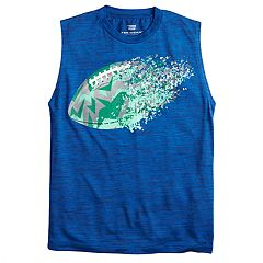 Boys 8-20 Tek Gear® Shifting Football Muscle Tee